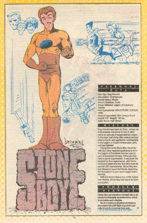 Stone Mimicry-Stone Boy-DC Who's Who #22 (DC)
