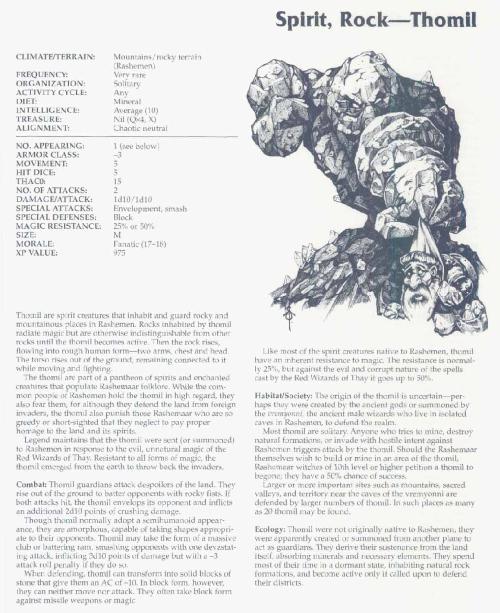 stone-mimicry-thomill-tsr-2166-monstrous-compendium-annual-volume-3