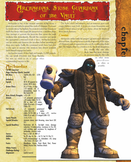 stone-mimicry-wow-archaedes-world-of-warcraft-monster-guide