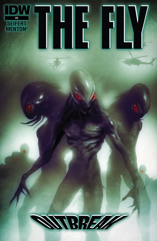 Transmutation (insect)– The Fly - Outbreak #4 (IDW)