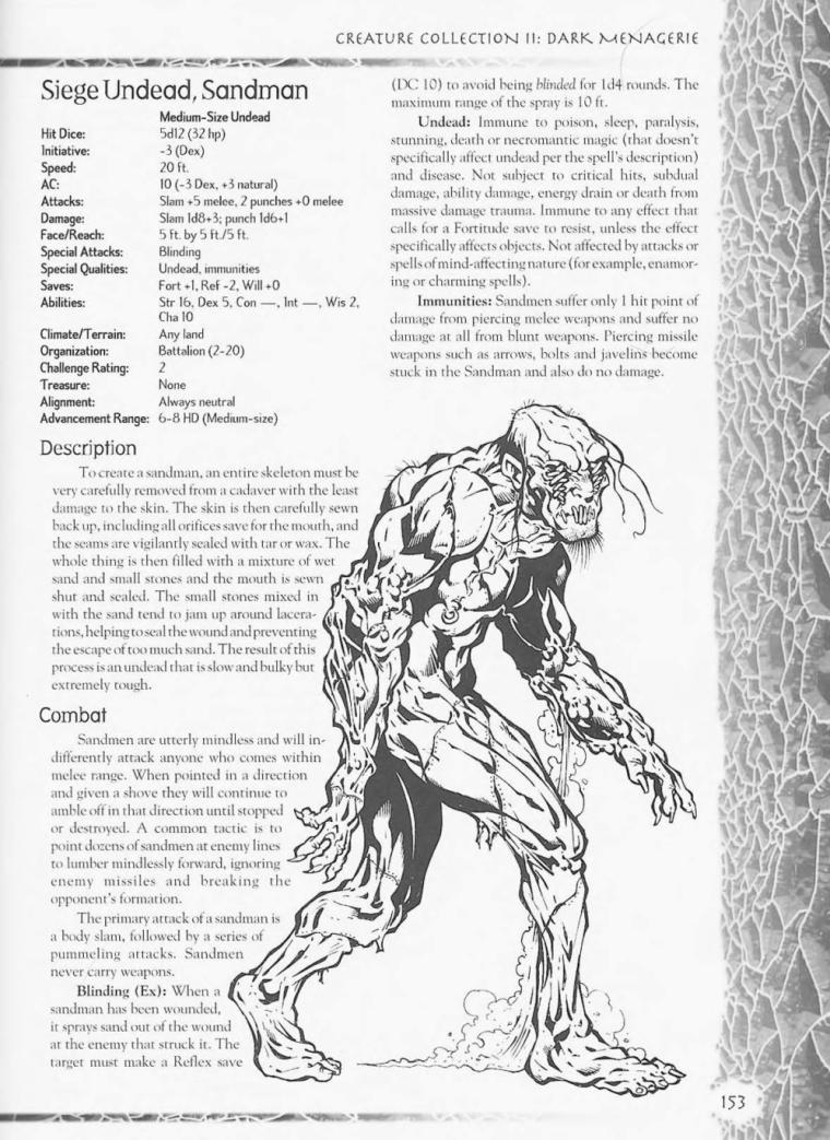 Zombie Mimicry-D&D-Sandman-Creature Collection II. Dark Menagerie