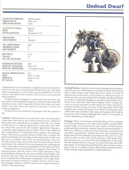 zombie-mimicry-undead-dwarf-tsr-2145-monstrous-compendium-annual-volume-1