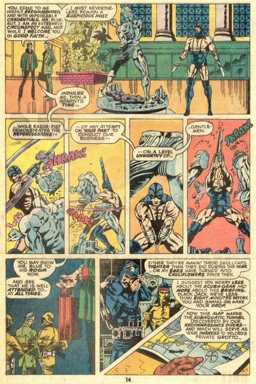 Appendages (blades)-Razor Fist-Master of Kung Fu V1 #29