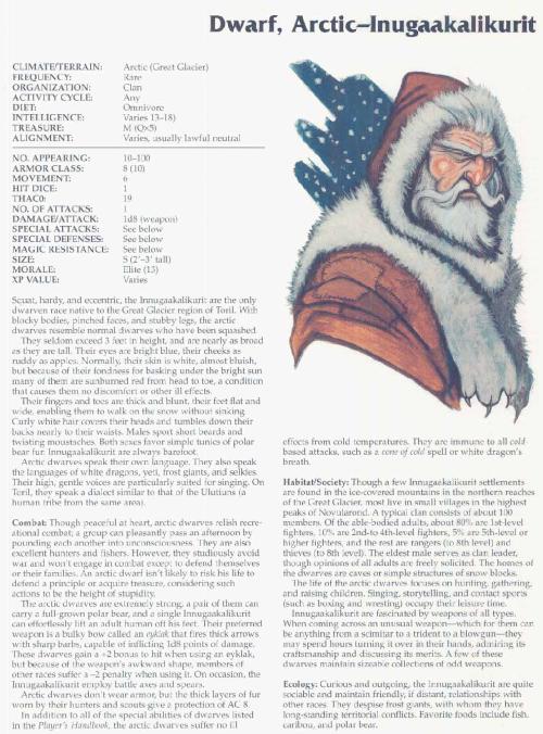 dwarf-mimicry-artic-inugaakalikurit-dwarf-tsr-2166-monstrous-compendium-annual-volume-3