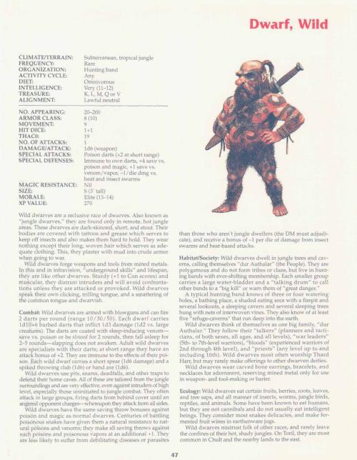 dwarf-mimicry-wild-dwarf-tsr-2158-monstrous-compendium-annual-volume-2