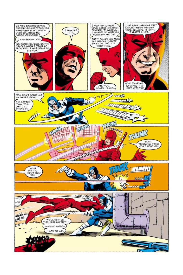 Electroreception-Daredevil V1 #172 (1981)