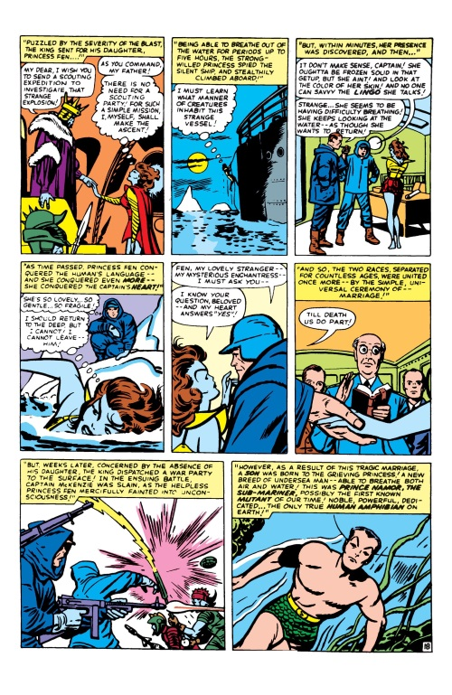 Hybrid Mimicry-1-Namor the Submariner-Annual Fantastic Four #1 (1963)