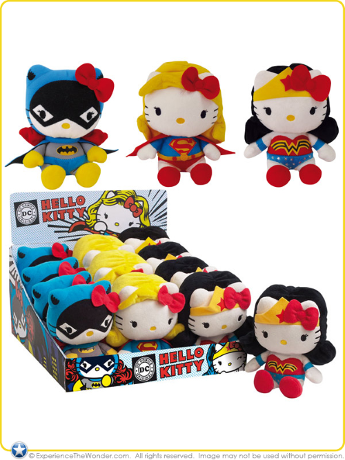 Merging (universes)-Hello Kitty-DC Girl Power