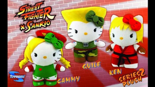 Merging (universes)-Hello Kitty-Street Fighter