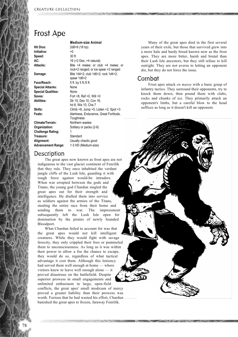 primate-mimicry-dd-frost-ape-creature-collection-i