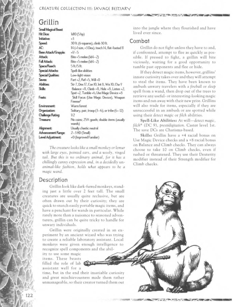 primate-mimicry-dd-grillin-creature-collection-iii-savage-bestiary