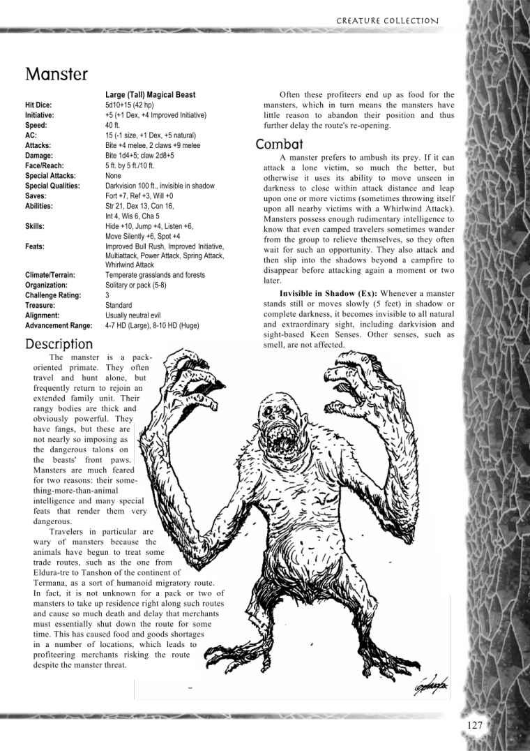 primate-mimicry-dd-manster-creature-collection-i