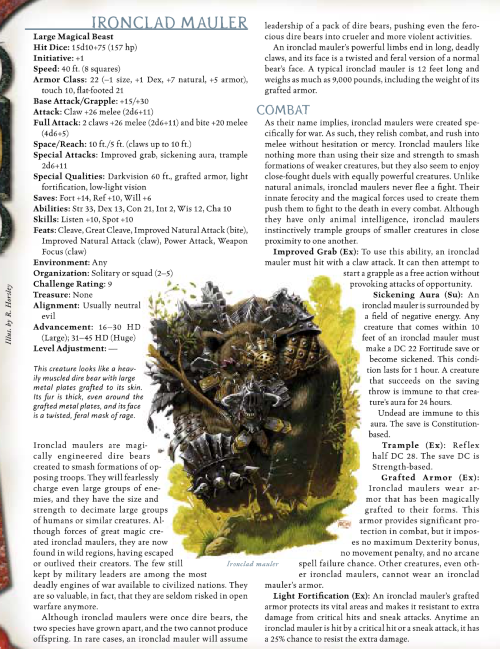 bear-mimicry-ironclad-mauler-dd-3-5-monster-manual-iii