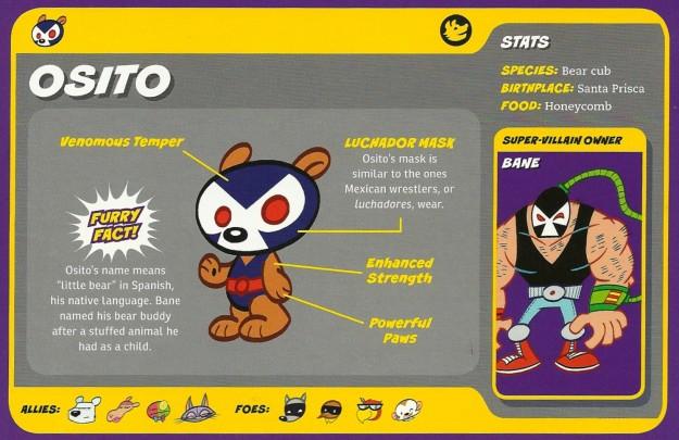 Bear Mimicry-Osito-Bane-Capstone's DC Super-Pets Character Encyclopedia
