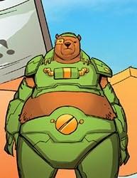 Bear Mimicry-Wreckless-Deadpool Bi-Annual V1 #1