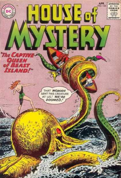 Cephalopod Mimicry-Octopus-House of Mystery V1 #133