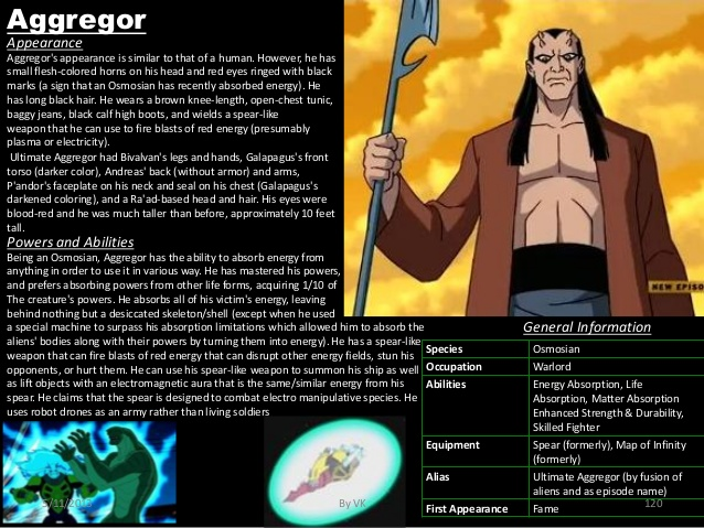 Energy Absorption-Ben 10-Aggregor