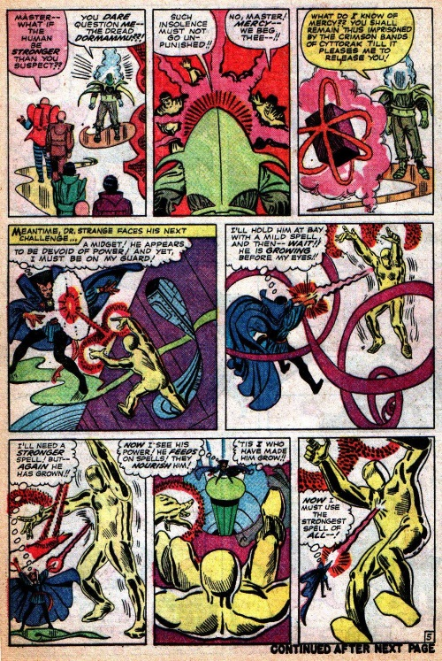 Energy Absorption-Doctor Strange-Strange Tales #126
