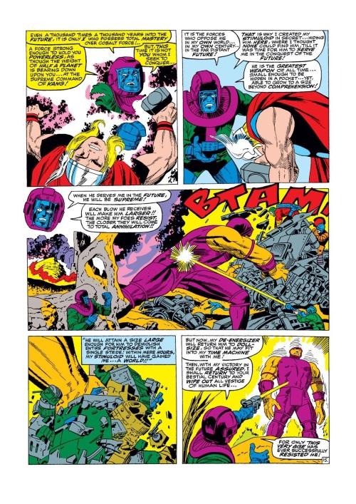 Energy Absorption-Growing Man-Thor V1 #140 (1967)