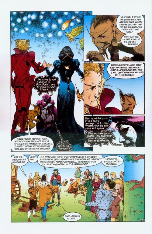Fey Mimicry-DC-Auberon & Titania-Sandman #19