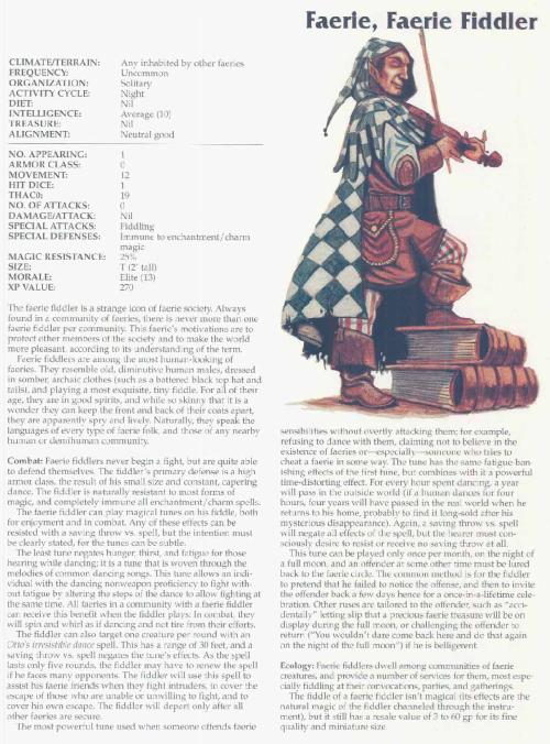 fey-mimicry-faerie-fiddler-tsr-2166-monstrous-compendium-annual-volume-3