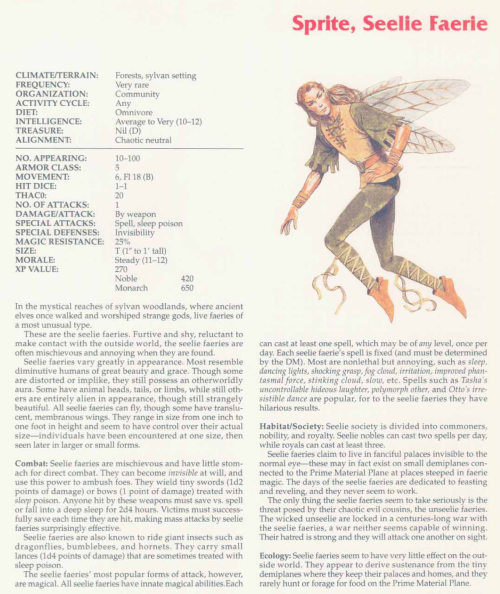 fey-mimicry-seelie-faeries-tsr-2158-monstrous-compendium-annual-volume-2