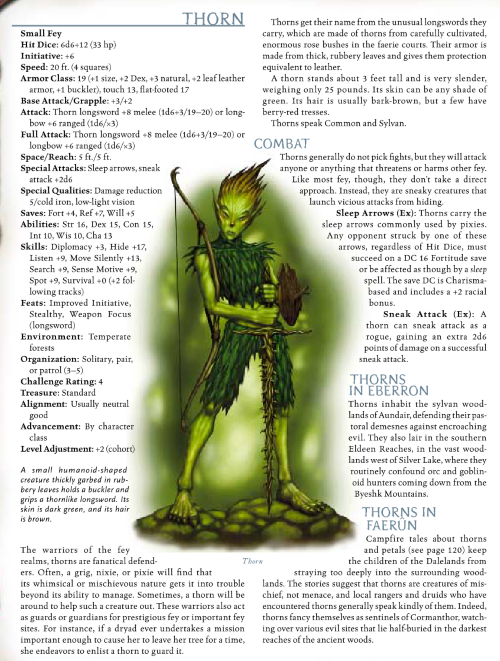 fey-mimicry-thorn-dd-3-5-monster-manual-iii