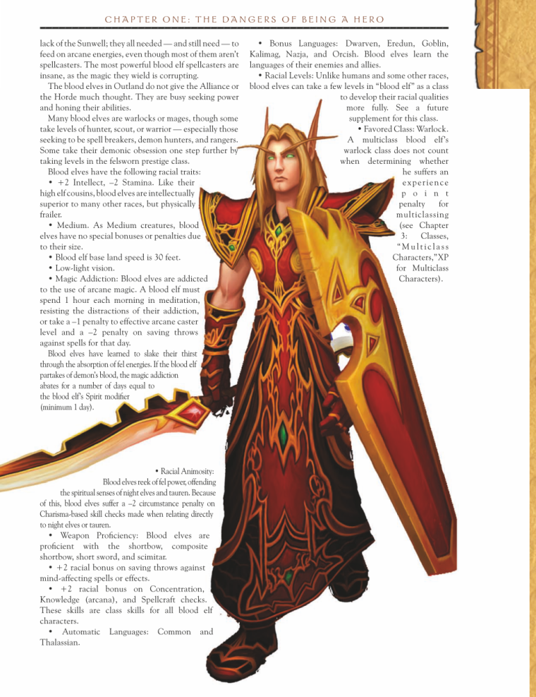 Fey Mimicry-WOW-Blood Elves-World of Warcraft Monster Guide