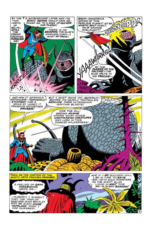 Gastropod Mimicry-Snail-Strange Tales V1 #164 (1968)