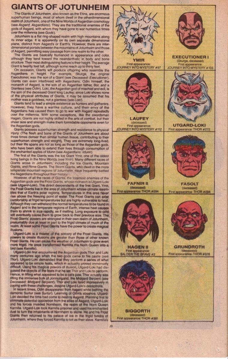 Giant Mimicry-1-Official Handbook of the Marvel Universe V3 #3