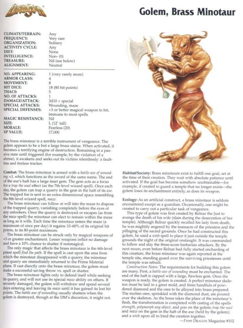 golem-mimicry-brass-minotaur-golem-tsr-2173-monstrous-compendium-annual-volume-4
