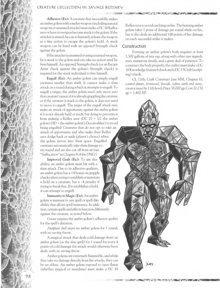 golem-mimicry-dd-amber-golem-creature-collection-iii-savage-bestiary