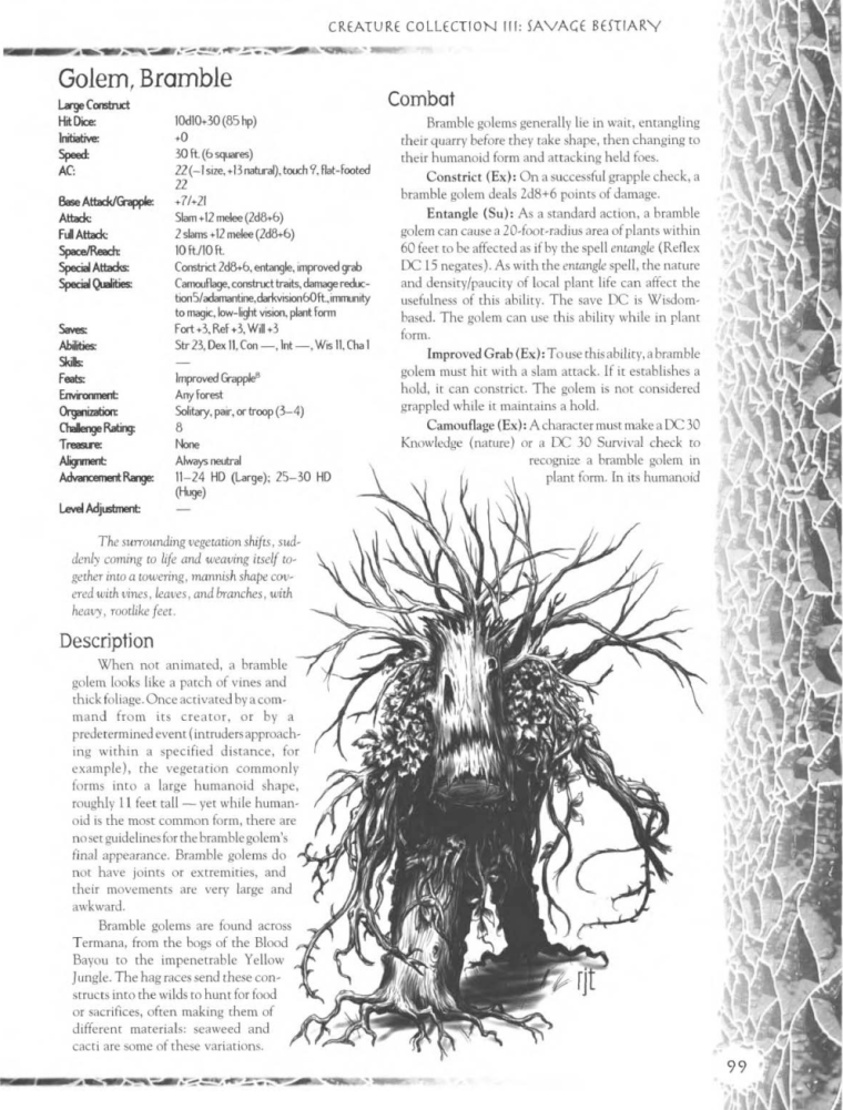 golem-mimicry-dd-bramble-golem-creature-collection-iii-savage-bestiary