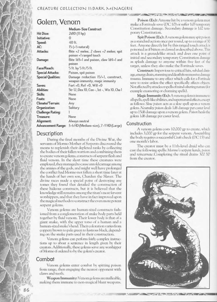 golem-mimicry-dd-venom-golem-creature-collection-ii-dark-menagerie