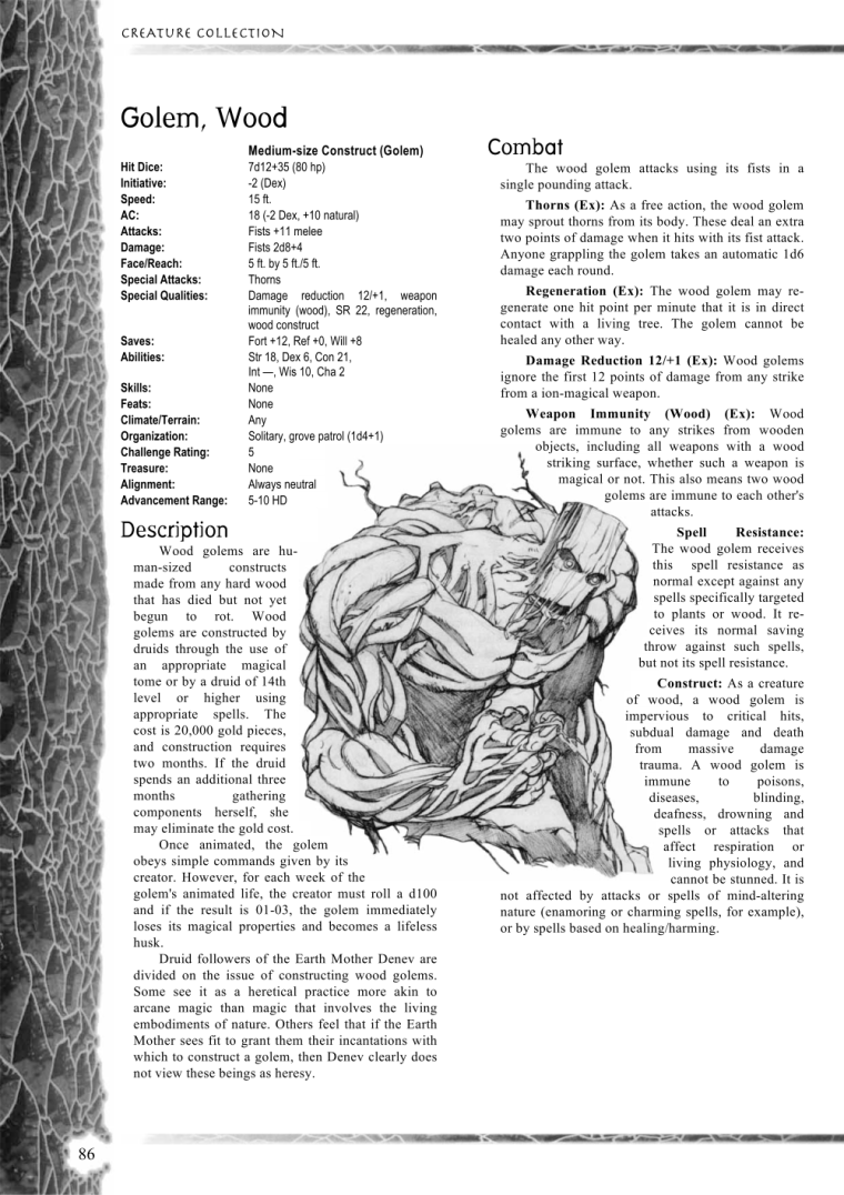 golem-mimicry-dd-wood-golem-creature-collection-i