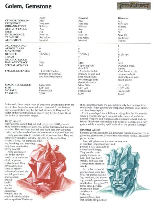 golem-mimicry-gemstone-golem-tsr-2173-monstrous-compendium-annual-volume-4