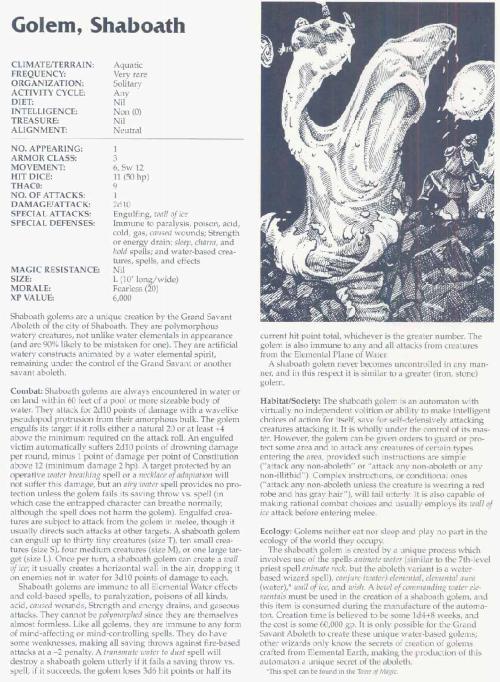 golem-mimicry-golem-shaboath-tsr-2166-monstrous-compendium-annual-volume-3