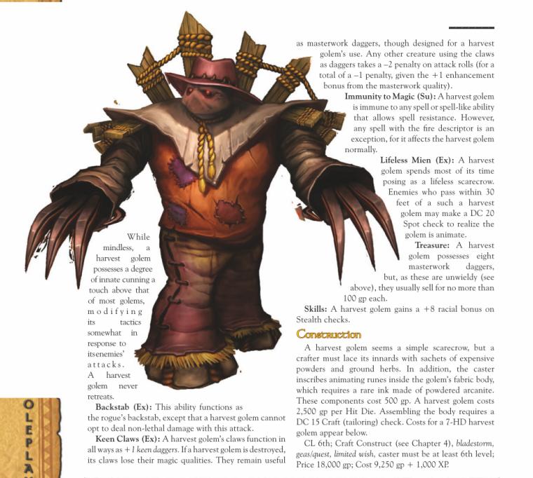 golem-mimicry-wow-harvest-golem-world-of-warcraft-monster-guide
