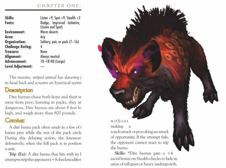hyena-mimicry-dire-hyena-world-of-warcraft-monster-guide