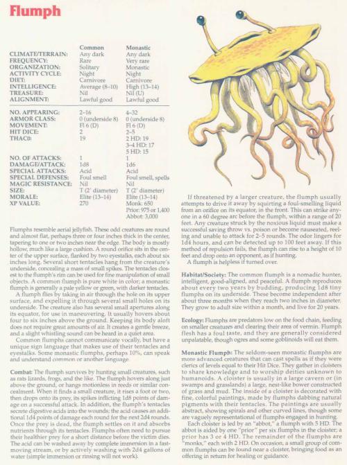 jellyfish-mimicry-flumph-tsr-2158-monstrous-compendium-annual-volume-2