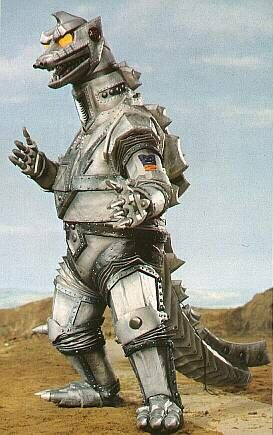Robot Mimicry-Godzilla-Mechagodzilla