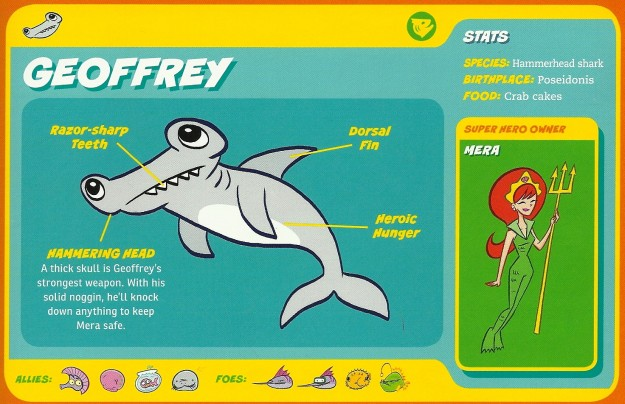 Shark Mimicry-2-Geoffrey-Mera-Capstone's DC Super-Pets Character Encyclopedia