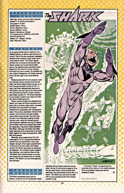 Shark Mimicry-3-Shark-DC Who's Who #20 (1986)