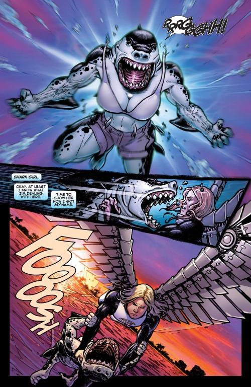 Shark Mimicry-4-Shark Girl-Wolverine & The X-Men #20 (2013)