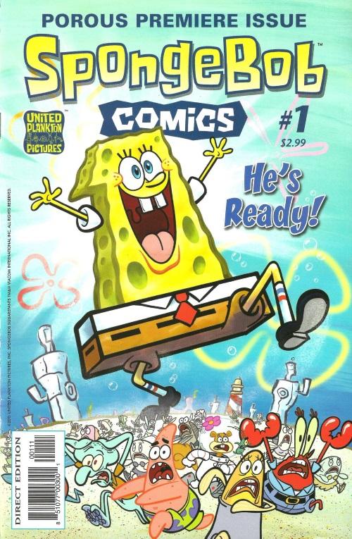 Sponge Mimicry-SpongeBob SquarePants-SpongeBob Comics #1 (2011)