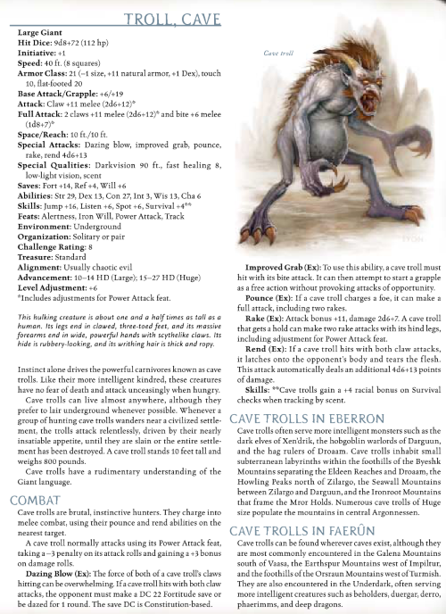 troll-mimicry-cave-troll-dd-3-5-monster-manual-iii