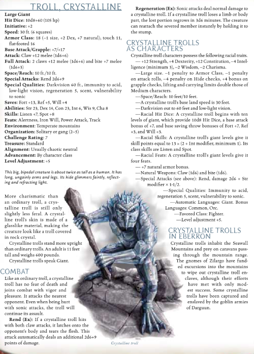 troll-mimicry-crystalline-troll-dd-3-5-monster-manual-iii