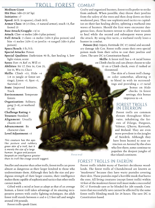 troll-mimicry-forest-troll-dd-3-5-monster-manual-iii