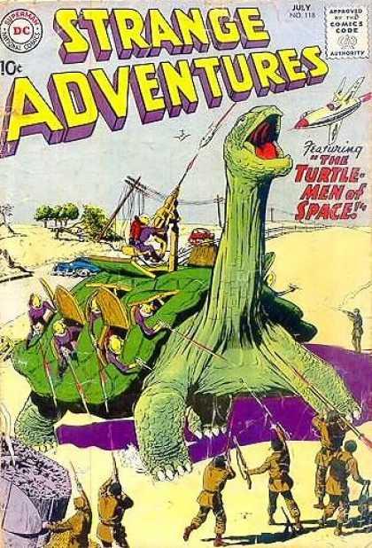 Turtle Mimicry-Strange Adventures V1 #118