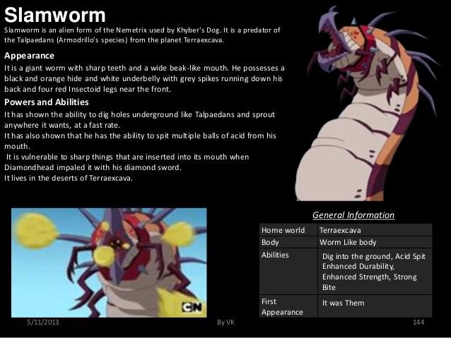 Worm Mimicry-Bent 10-Slamworm